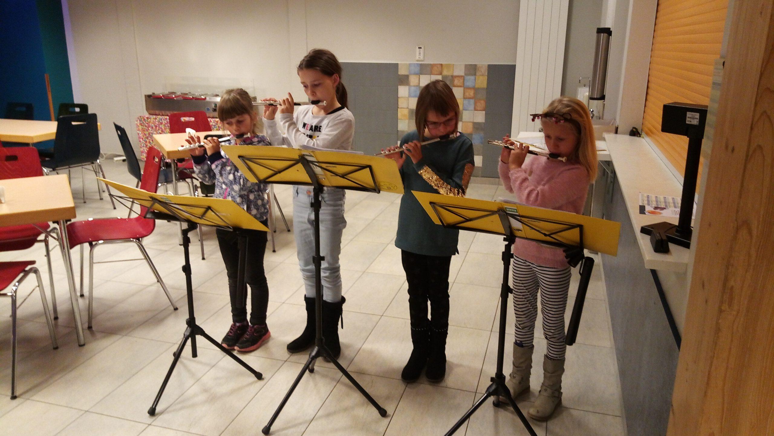 Übungsstunde Flöten 2019